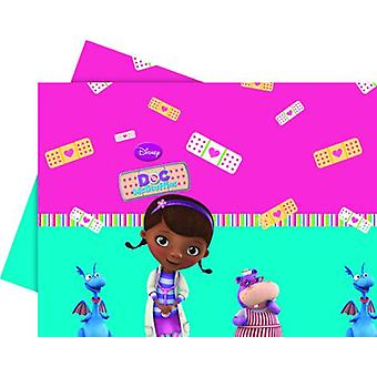Doc McStuffins toy doctor party tablecloth 120 x 180 cm 1piece children birthday theme party
