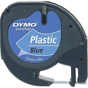 Labelling tape DYMO 91225 Tape colour: Ultra blue Font colour: Black 12 mm 4 m