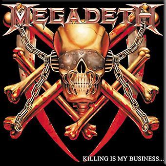 Megadeth Killing Is My Business Fridge Magnet