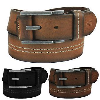 Camel active steel buckle leather belt 116-113