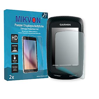 Garmin Edge 800 Screen Protector - Mikvon Armor Screen Protector (Retail Package with accessories)