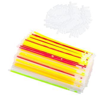 TRIXES 100 Party Glow Sticks och 100 kontakter