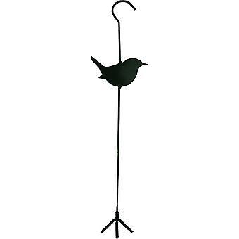 Vogelvoederhanger groen metaal 40cm