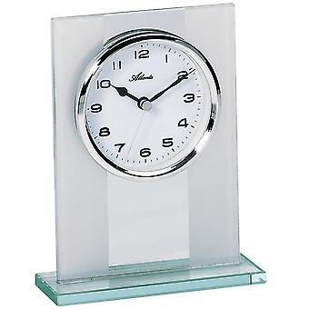 Комбинированные таблицы стиль часы кварца твердого стекла серебра