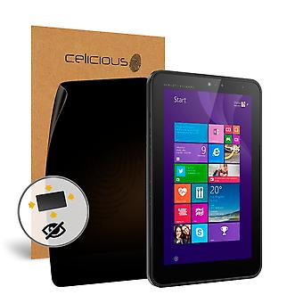 Celicious Privacy oltre 4 vie Anti-Spy Screen Protector Film compatibile con HP Tablet Pro 408 G1 del filtro