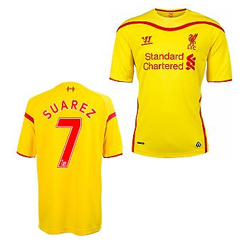 2014-15 Liverpool Away Shirt (Suarez 7) - Kids