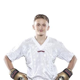 Top ti Mesh Kickboxing jakke hvid