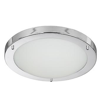 Searchlight 10633CC Chrome Flush Bathroom Ceiling Light