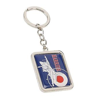 R.A.F. Official Licenced Product Silhouette Series Harrier Keyring  RAF136