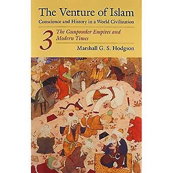 De onderneming van de Islam: geweten en geschiedenis in een beschaving van de wereld: het buskruit Empires en moderne tijden v. 3 (Venture voor Islam Vol. 3)
