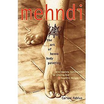 Mehndi: Arte da pintura do corpo do Henna