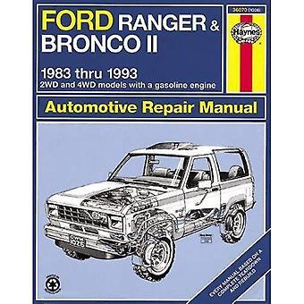 Haynes Ford Ranger och Bronco II, 1983-1992