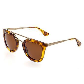 Bertha Ella Polarized Sunglasses - Tortoise/Brown
