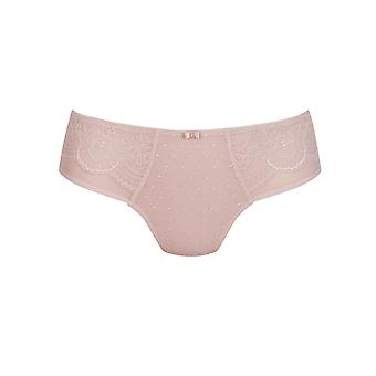 Rosa Faia 1336-596 Women's Selma Rosewood Pink Embroidered Full Panty Highwaist Brief