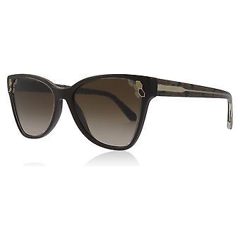 Bvlgari BV8208 545413 gennemsigtig / brun BV8208 katte øjne solbriller linse kategori 3 størrelse 56mm