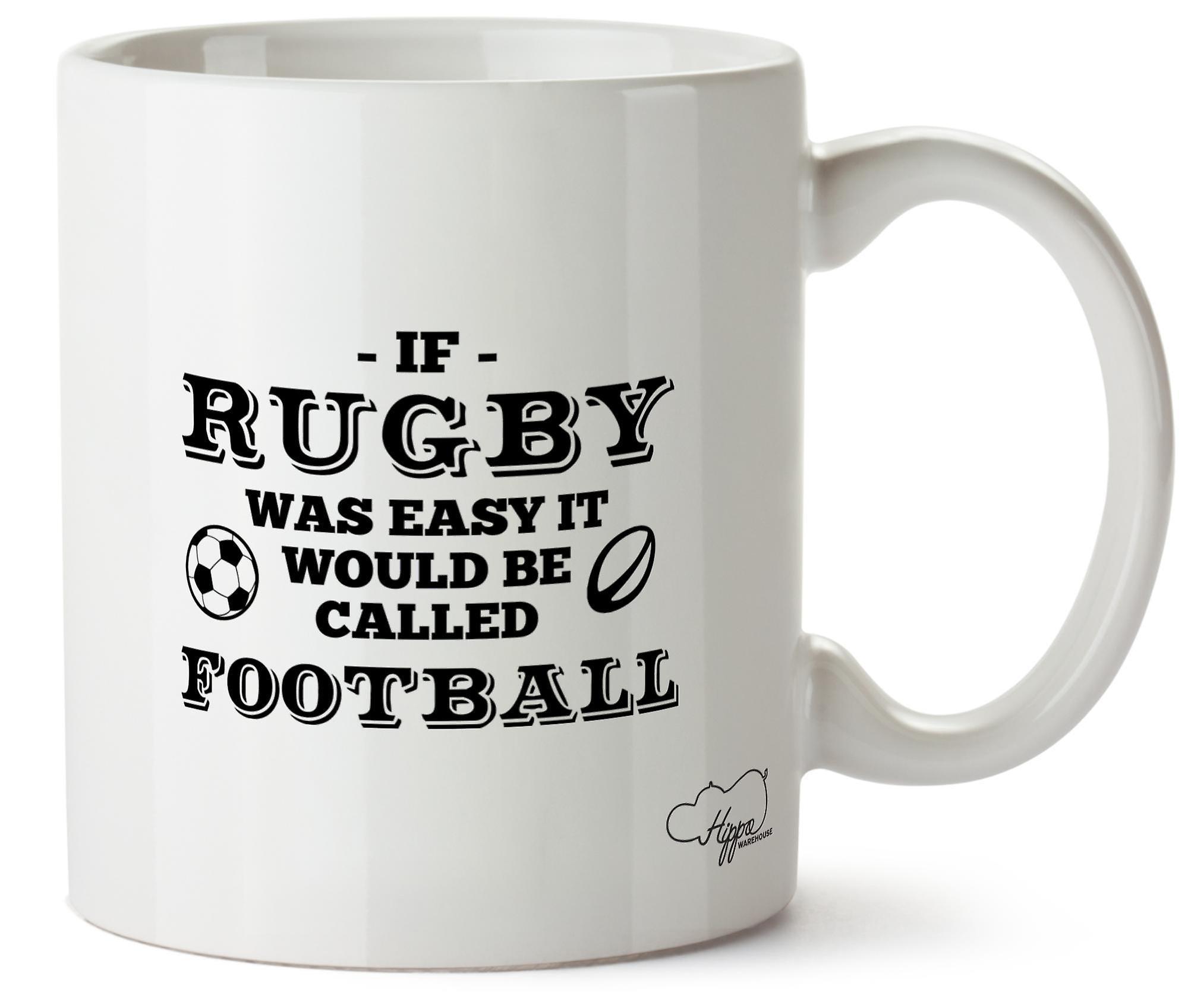 Hippowarehouse Rugby Le S'appellerait Football En Céramique 10oz Facile Il Mug Tasse Était Si Imprimé k0OXw8Pn