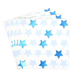 Little Star Blue - Paper Napkin - 16 Pack