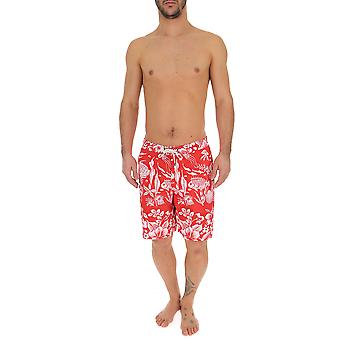 Ralph Lauren Red Nylon Trunks