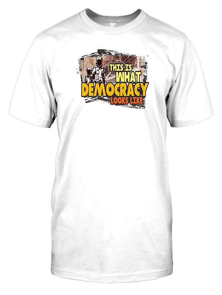 This is What Democracy Looks Like Kids T Shirt