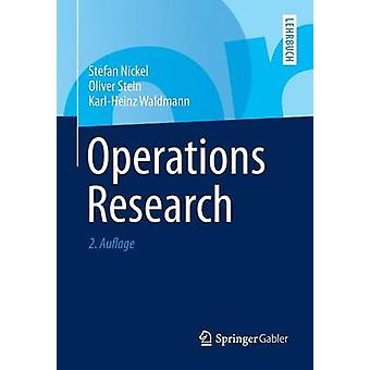 Operations Research by Nickel & Stefan