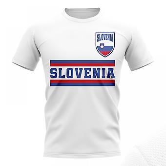 Slovenia Core Football Country T-Shirt (White)