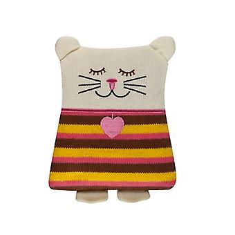 Soxo Knitted Cuddle Hottie Body Warmer: Pussy Cat