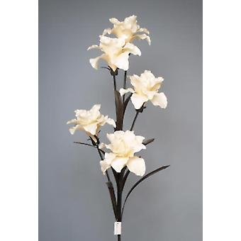 Artificial Silk Open Lily Silk Single Stem