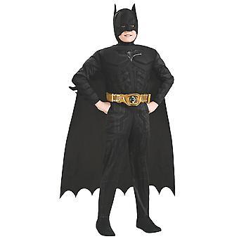 Batman Deluxe Muscle Dark Knight Trilogy Superhero Book Week Boys Costume