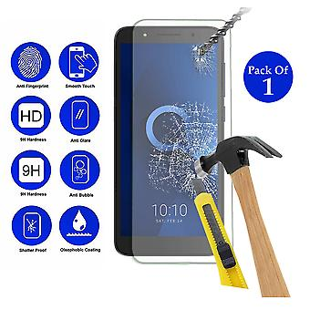 Pack of 1 Tempered Glass Screen Protection For Alcatel 1C 2019 5.3