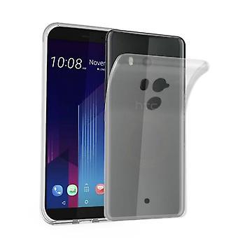 Cadorabo Case for HTC U11 PLUS Case Cover - Mobile Phone Case made of flexible TPU silicone - Silicone Case Protective Case Ultra Slim Soft Back Cover Case Bumper
