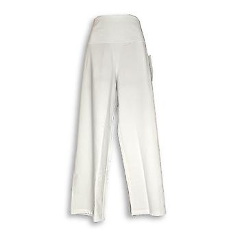 Contrôle Femmes-apos;s Pantalon Plus Tummy Control Cropped White A301334