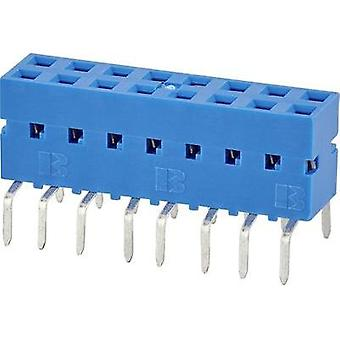 Receptacles (standard) No. of rows: 2 Pins per row: 6 FCI 71991-306LF 1 pc(s)
