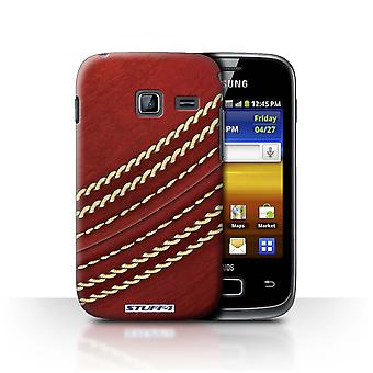 STUFF4 Case/Cover for Samsung Galaxy Y Duos/S6102/Cricket/Sports Balls