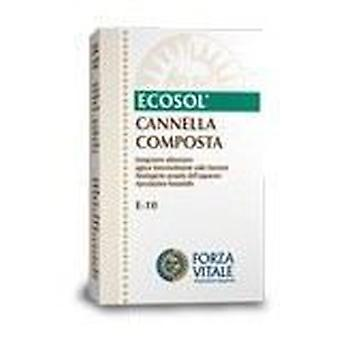 Forza Vitale Compost Canela (Silver) Metal spagyrical 10Ml.