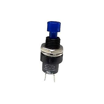 Pushbutton 250 Vac 1.5 A 1 x Off/(On) SCI R13-509A-05 BLUE momentary 1 pc(s)