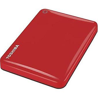 2.5 external hard drive 1 TB Toshiba Canvio Connect II Red USB 3.0