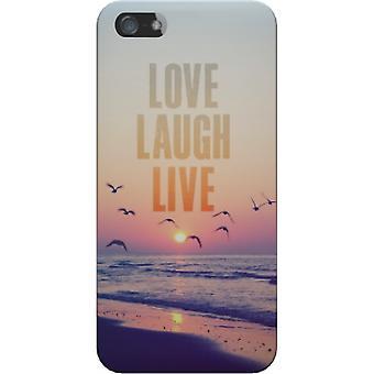 Täcka kärlek skratta live för iPhone 5S/SE
