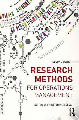 Research Methods for Operations ManageHommest by Christer Karlsson