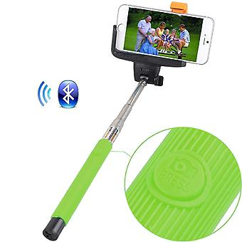 ONX3 (Green) Huawei P8 Lite (2017) Universal Bluetooth Wireless Selfie Stick Monopod Built-in Remote Shutter Pocket Sized