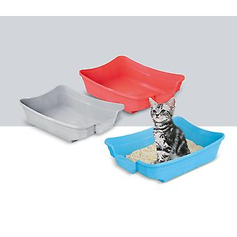Polly Cat Litter Tray Assorted 35x25x10cm (14x10x4