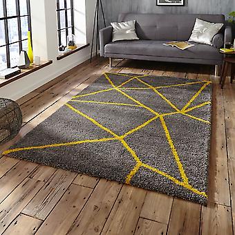 Königliche nomadischen 5746 Teppiche In grau gelb