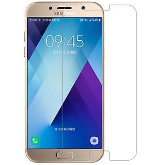 2 x ægte hærdet glas skærm protektor For Samsung Galaxy A3 2017