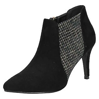 Ladies Anne Michelle Zip Ankle Boots F50373