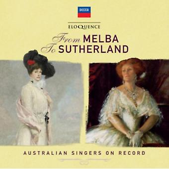 From Melba To Sutherland - Australian Singers On Record by Various Artists