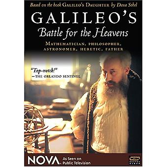 Nova - Nova: Galileos kamp for himlene [DVD] USA importen