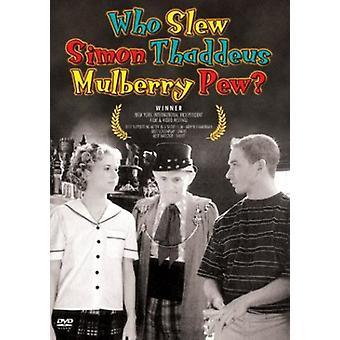 Kto zabił Pew Simon Thaddeus Mulberry? Import [DVD] Stany Zjednoczone Ameryki