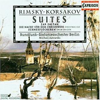 N. Rimsky-Korsakov-Rimsky-Korsakov: Importación Suites [CD] Estados Unidos