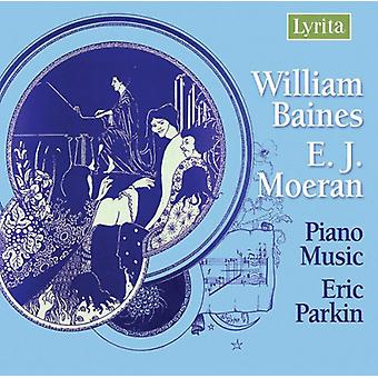 W. Baines - William Baines, ej Moeran: Klavermusik [CD] USA import