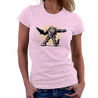 Pair Bond Big Daddy Little Sister BioShock Women's T-Shirt