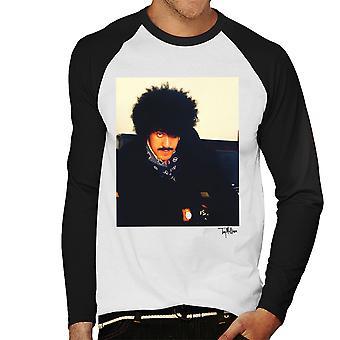 Thin Lizzy Phil Lynott miesten Baseball pitkähihainen t-paita